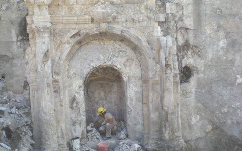 2a campagna di scavo prima azione di restauro cripta
