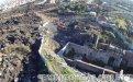 Veduta aerea al termine della 2a campagna di scavo
